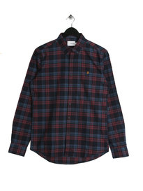 Farah Radley Slim Shirt Red