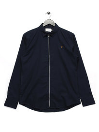 Farah Roscoe Long Sleeve Shirt Navy