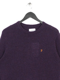 Farah Rosecroft Long Sleeve Jumper Purple