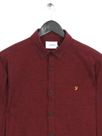 Farah ST-Shirt Slim Long Sleeve Shirt Current