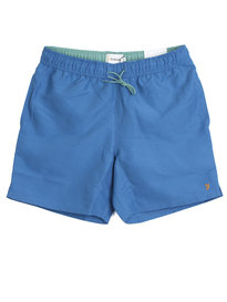 Farah Swanson Colbert Plain Swim Shorts Royal Blue