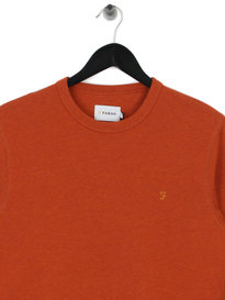 Farah Tim Crew Sweat Orange
