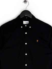 Farah Libbert Slim LS Shirt Black