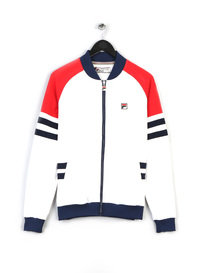 FILA FOUNDER TRACK TOP 100 WHITE