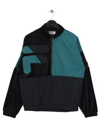 Fila Blackline Fritz Half and Half Velour Navy