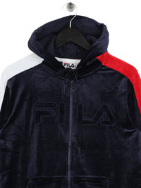 Fila Blackline King Velour Tracktop Navy