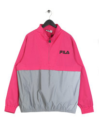 Fila Blackline Levi Colour Block Jacket Pink