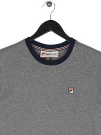 Fila Marconi Crew Neck T-Shirt Grey