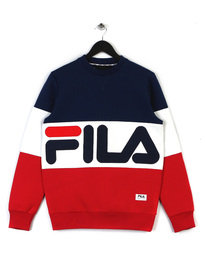 FILA POLAR CREW NECK SWEATSHIRT 100 MULTI