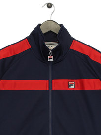 Fila Renzo Tricot Funnel Neck TrackTop Navy