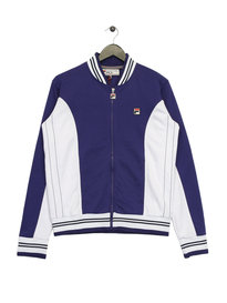 Fila Settanta Baseball Jacket Purple