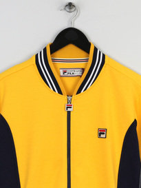 FILA SETTANTA TRACK TOP 377 YELLOW
