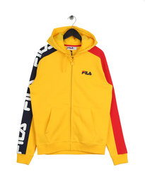 Fila Blackline Stan Cut And Sew Hoodie Yellow