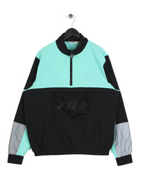 Fila Blackline Tyler 1/4 Zip Jacket Black