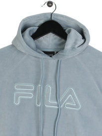 Fila Blackline Kai Hooded Sweat Sky Blue