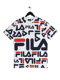 Fila Blackline Logan Graphic T-Shirt White