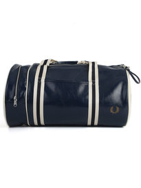 Fred Perry Class Barrel Bag Navy