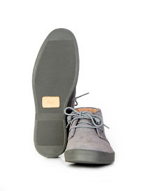 G.H. Bass & Co. Scholar Stanford Mid Suede Grey