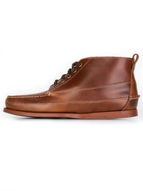 G.H. Bass & Co Camp Moc Ranger Pull Up Boots Brown