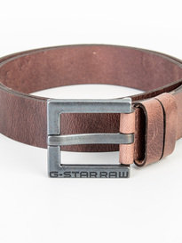 G-Star Duko Leather Belt Brown