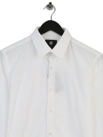 Gstar Raw Core Shirt Long Sleeve Shirt White