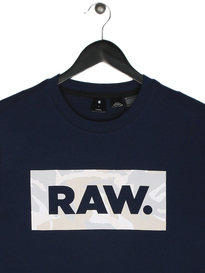 G Star Raw DC Art T-Shirt Blue