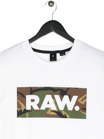G Star Raw DC Art T-Shirt White