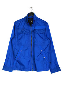 G Star Raw Deline Nylon Overshirt Jacket Blue
