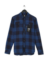 G Star Raw Landoh Long Sleeve Shirt Navy