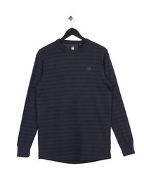 Gstar Raw Phaen Stripe Long Sleeve T-Shirt Blue