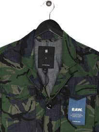 G Star Raw Vodan Worker Overshirt Camo