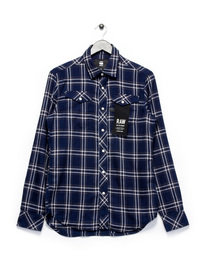 G-Star Tacoma Deconstructed LS Shirt Navy