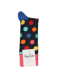 Happy Socks Big Dot Socks Navy