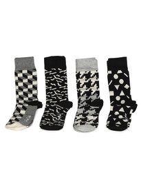Happy Socks Black White Box Set