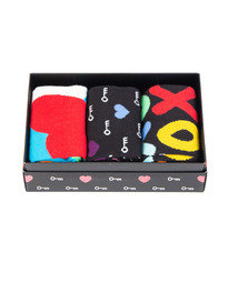happy Socks I Love You Gift Set Multi