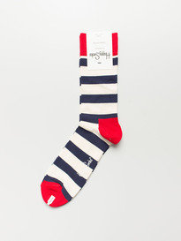 Happy Socks Sa01-045 Stripe Sock Multi