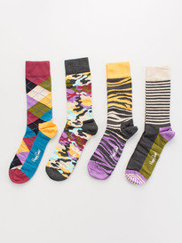Happy Socks Xbc09-095 Bark Gift Box Set Multi