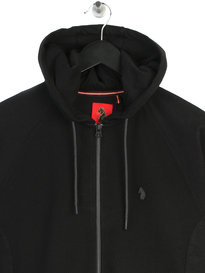 Luke Honey Brower OTM Zip Up Sweat Black