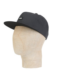 HUF Bar Logo Snapback Cap Grey