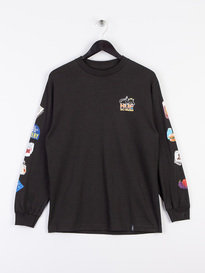 Huf Bodega Long Sleeve T-Shirt Black