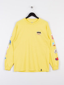 Huf Bodega Long Sleeve T-Shirt Yellow