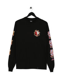 Huf Chloe K Yin-Yang Long Sleeve T-Shirt Black