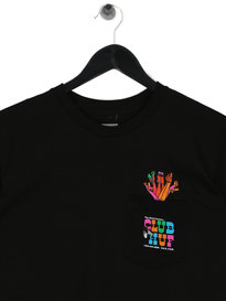 Huf Club HUF Pocket Short Sleeve T-Shirt Black