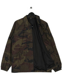 Huf Essentials Tracktop Coaches Jacket Camo