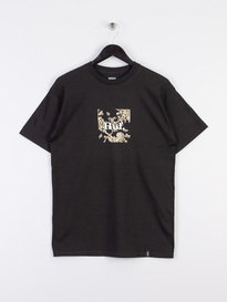 Huf Highline Box Logo Short Sleeve T-Shirt Black