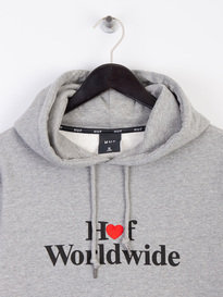 Huf Love Pull Over Hoodie Heather Grey