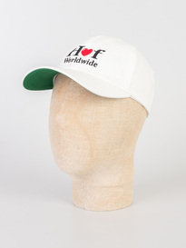 Huf Love CV Cap White