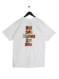 HUF Our Heros T-Shirt White