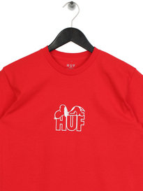 Huf x Peanuts Snoopy Resting T-Shirt Red