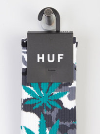 Huf Plantlife Camo Socks White